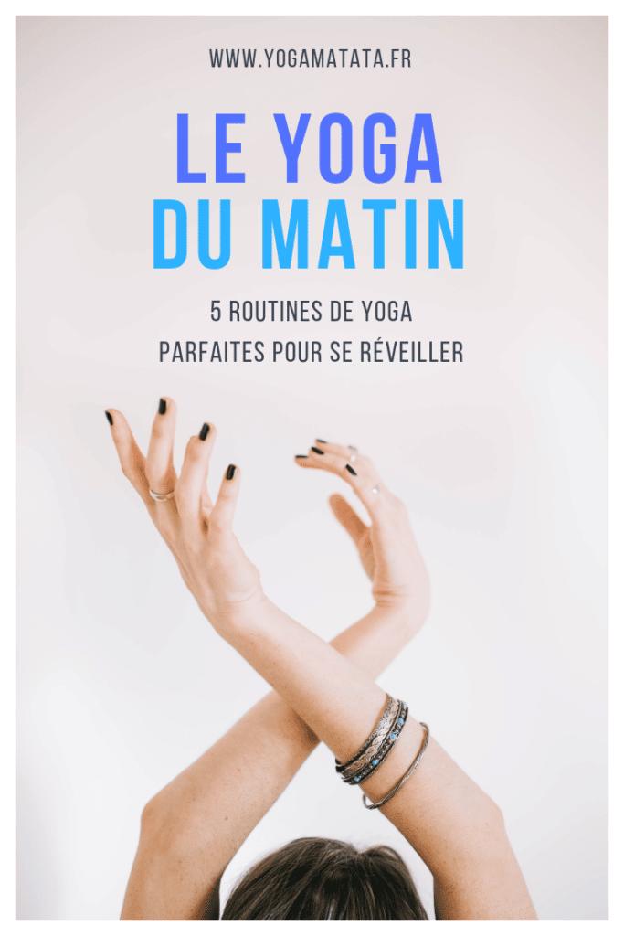 5 routines de yoga du matin en vidéo et en français pour se réveiller en douceur !