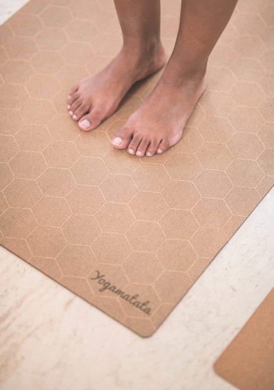 """tapis de yoga technique modèle """"Ruche"""""""