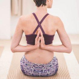 tapis de yoga en liège et caoutchouc naturel design