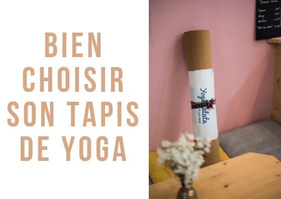 Comment choisir un tapis de yoga ? Ce petit guide vous aide à choisir parmi les différents modèles de tapis de yoga yogamatata, antidérapants et écologiques !
