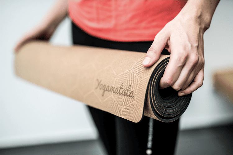 tapis de yoga caoutchouc naturel