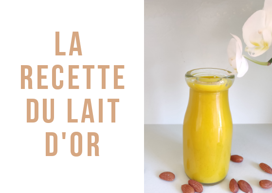 lait d'or recette traditionnelle facile faite maison golden milk