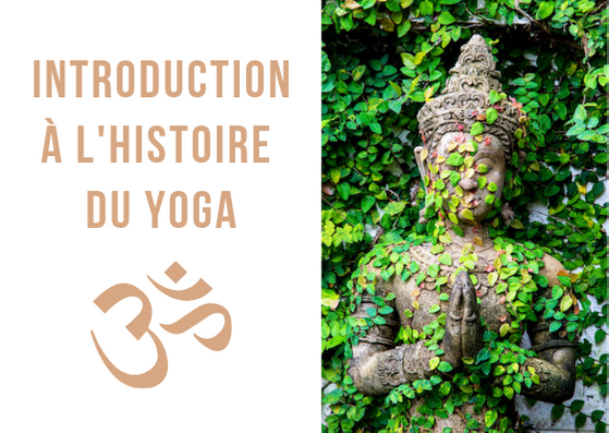 Histoire du yoga : petite introduction ! Sur votre tapis de yoga vous entendez régulièrement des termes en sanskrit, des citations de sages indiens, et vous vous demandez d'où cela vient ? Si le yoga est considéré par beaucoup comme une philosophie, comment cela se fait-il qu'on le considère quasiment comme un sport dans notre quotidien ? Cet article présente un aperçu de l'Histoire du yoga. Il donnera des pistes de compréhension et pour aller plus loin dans votre pratique. #yoga #histoire