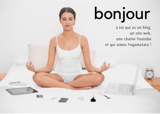 affiliation yogamatata - les tapis de yoga design et écologiques - affiliation blog, youtube et site éditorial