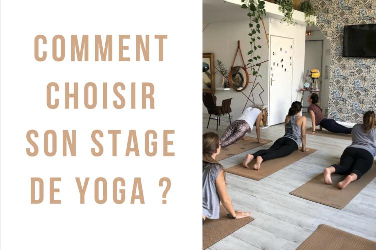 Comment choisir son stage de yoga ? Des petits conseils avant de partir en séjour de yoga. #yoga #retreat #stagedeyoga
