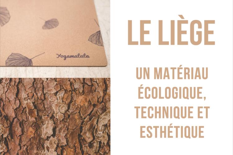 Pourquoi utiliser le liège ? Le liège : écologique, téchnique et esthétique.