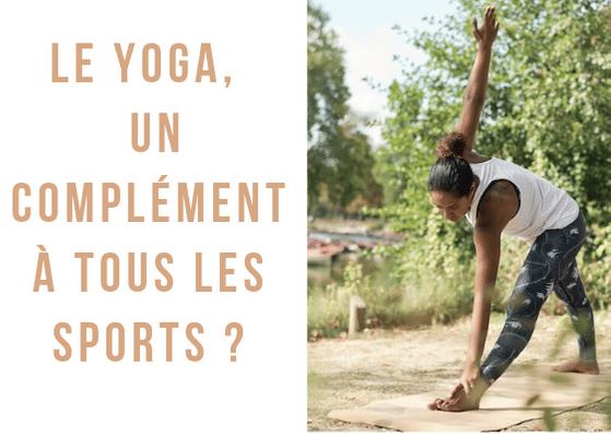 Pratiquez le yoga en complément de votre sport intense!Le yoga apporte de nombreux bienfaits sur la santé spirituelle, psychique et physique.