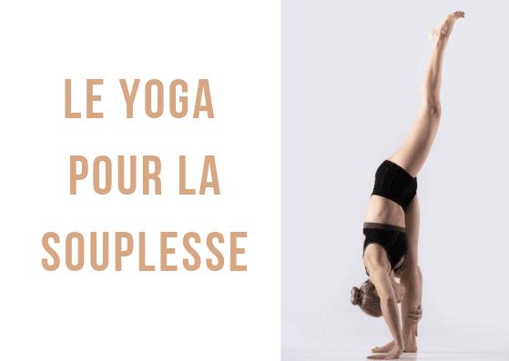 Des exercices de yoga en vidéo, à pratiquer pour travailler plus particulièrement votre souplesse ! #yoga #souplesse #sport #étirements