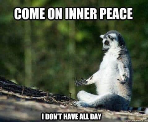 Longue journée? Faites une pause et amusez-vous avec ces memes rigolos de yoga.