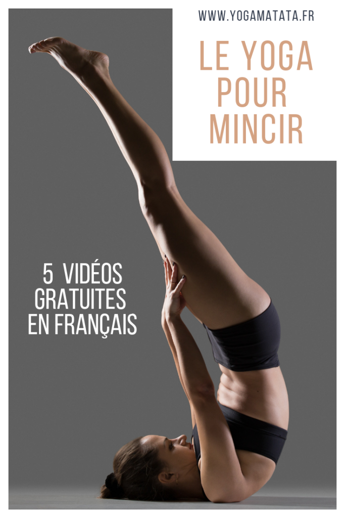 Voici une sélection de vidéos de cours de yoga dédiés spécifiquement à la minceur. Installez-vous sur votre tapis de yoga, c'est partiii ! #yoga et sport à la maison