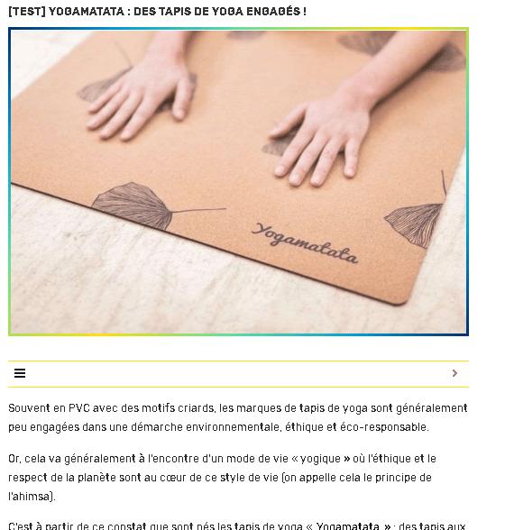 avis yogamatata sport