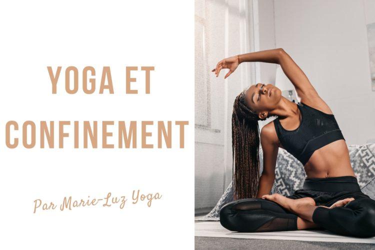 yoga à la maison cours de yoga en vidéo et sur instagram, confinement #yoga sport à la maison