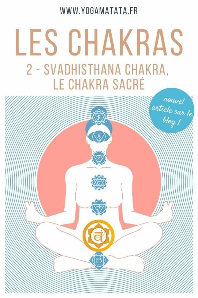 SVADHISTHANA CHAKRA : SIGNIFICATION ET ACTIVATION DU DEUXIÈME CHAKRA, LE « CHAKRA SACRÉ » Cet article présente svadhisthana chakra, le deuxième des 7 chakras. Il est appelé chakra sacré et se situe entre le pubis et le nombril.Vitalité, joie, énergie sexuelle ! Voilà 3 éléments qui ressortent la plupart du temps quand on en parle... Bonne lecture ! #yoga #chakra #spiritualité #svadhisthana