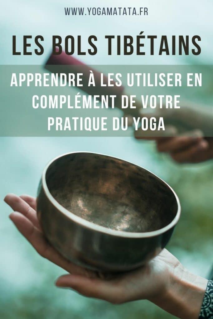 les bols tibétains pour le yoga et méditation #yoga #méditation #boltibétain